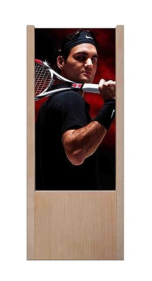 Lámpara de mesa de madera Roger Federer: Amazon.es: Iluminación