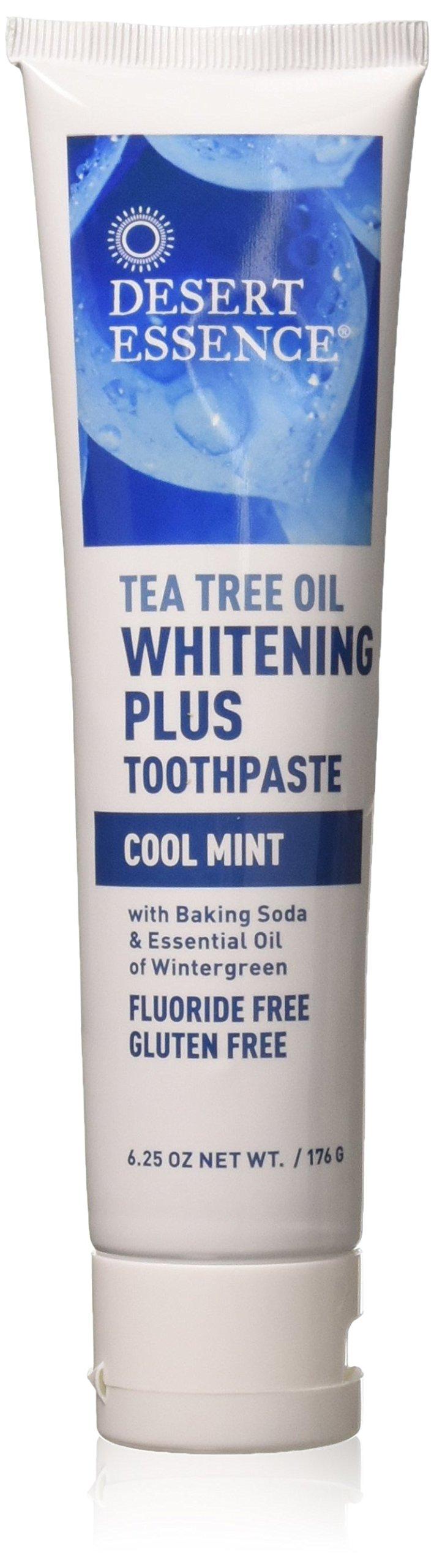 Desert Essence Whitening Plus Cool Mint Toothpaste - 6.25 oz