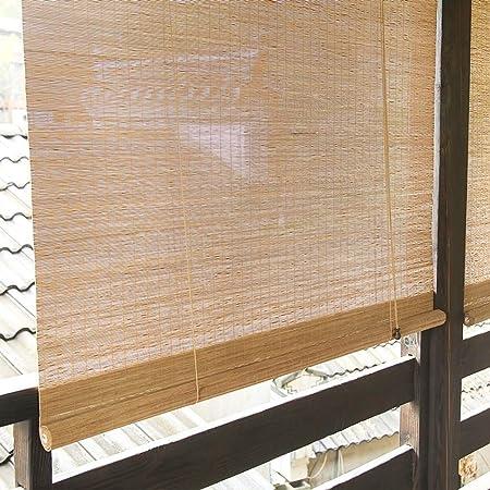 Persiana Enrollable Persianas Exteriores Enrollables para El Balcón de La Pérgola del Patio del Porche, Sombra Enrollable para Exteriores con 90% de Protección UV, 85cm / 105cm / 125cm / 135cm Ancha: Amazon.es: Hogar