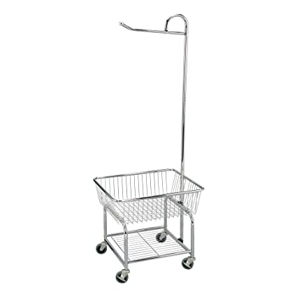 Amazoncom Household Essentials 6028 1 Rolling Laundry Cart With