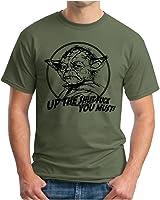 OM3 - YODA - FUCK - T-Shirt SHUT UP STORMTROOPER Darth Vader MUSIC, S - 5XL