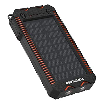 Batterie Externe 12000mahChargeur Poweradd Solaire qSUVGpzM