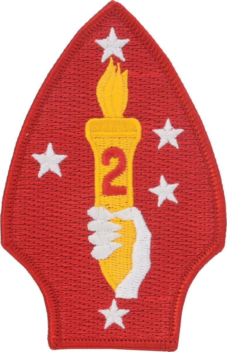 2nd Marine Division Full Color Dress Patch The Supply Room MC-P-0002A-F