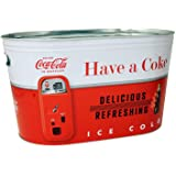 COCA COLA Coke Large Oval Party Tub (Red-White)