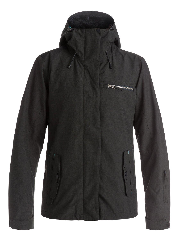 Roxy SNOW Junior's Jetty 3n1 Regular Fit Snow Jacket, True Black, L