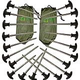 Bivvy Pegs x 20 for Fishing Bivvy / Umbrella