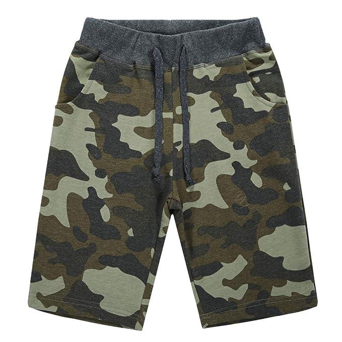 Amazon.com: Verano Running corto camuflaje de secado rápido ...