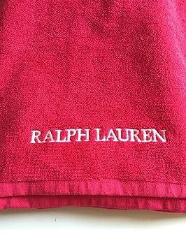 Ralph Lauren rosa toalla de playa (RRP £ 60.00: Amazon.es: Deportes y aire libre