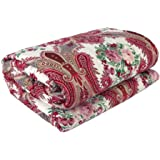 Renown Products Adorable Ethnic Design Reversible Single Bed Ac Blanket / Dohar / Quilt ( Pack Of 1 )