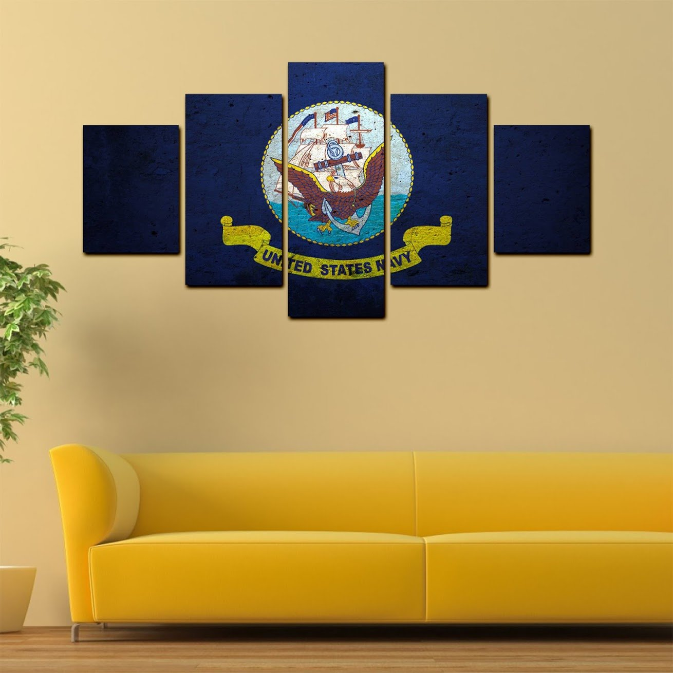 Awesome Navy And White Wall Art Ideas - Wall Art Collections ...