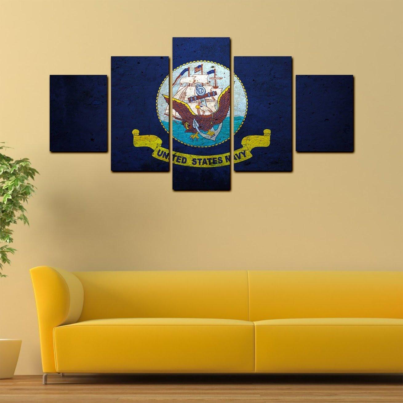 Nice Navy Blue Wall Art Model - Wall Art Collections ...