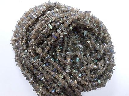 Beading Supplies Labradorite 7-8mm Nugget Beads Natural Labradorite Jewelry Supplies