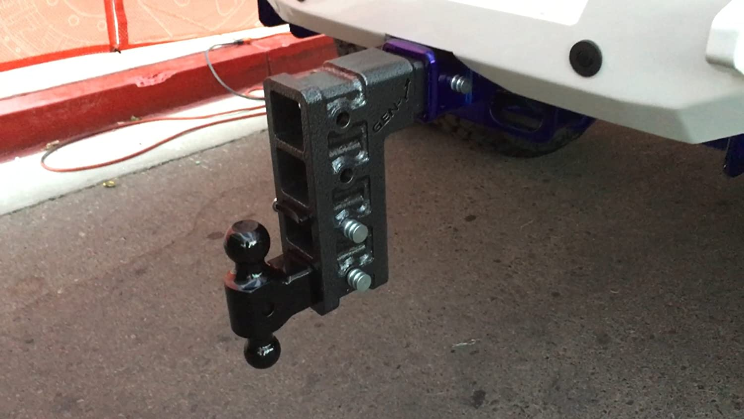 Pintle Lock /& two 3//4 Hitch pins 6 DROP 2.5 RECEIVER Combo Includes Dual Hitch Ball Drop Hitch 2.5 Receiver Class V 32K Towing Hitch