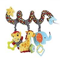 Giocattolo passeggino da appendere Bambino spirale Attività giocattolo della peluche per culla