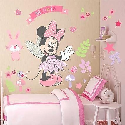 Adesivi Murali Per Bambini Disney.Kibi Adesivi Muro Minnie Disney Adesivi Muro Mickey Mouse Adesivo