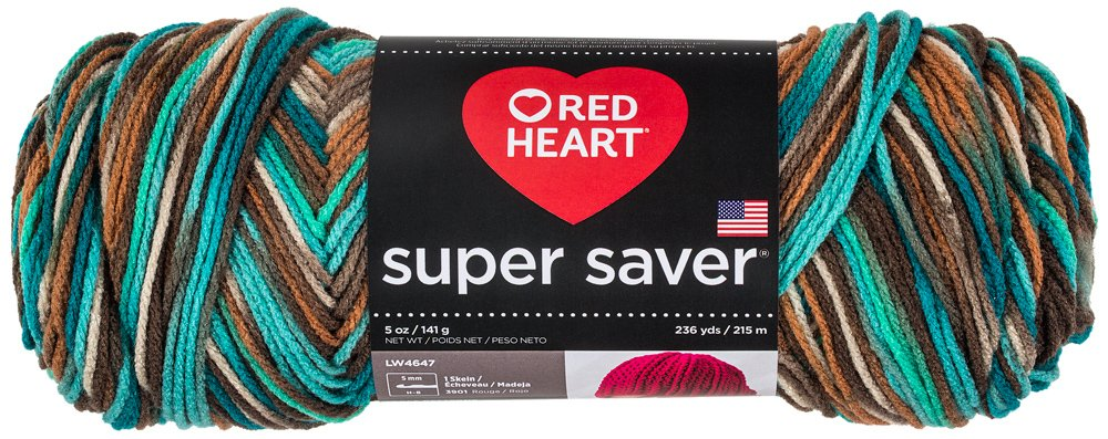 Red Heart Yarn Red Heart Super Saver Reef Print