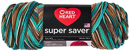 Coats Yarn E300-3949 Red Heart Super Saver Yarn-Reef