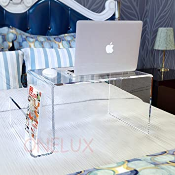 Amazon Com Waterall Clear Lucite Bed Tray Table Acrylic Laptop