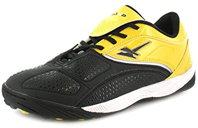 dc44a50ba60a Boys/Childrens Yellow/Black Lace Up Gola Astro Turf Trainers. - Yellow/