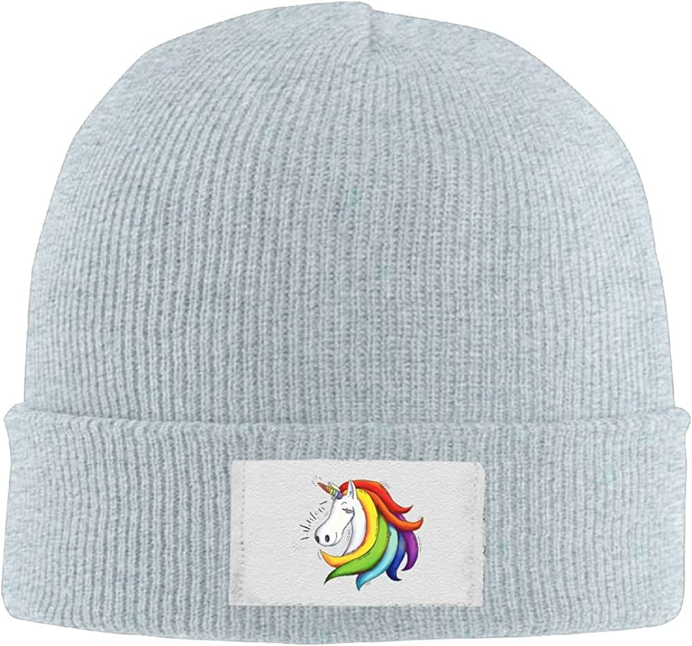 Unisex Fabulous Unicorn Cool Wool Hat Hipster Smart Cap Fashion For Outdoor /& Home