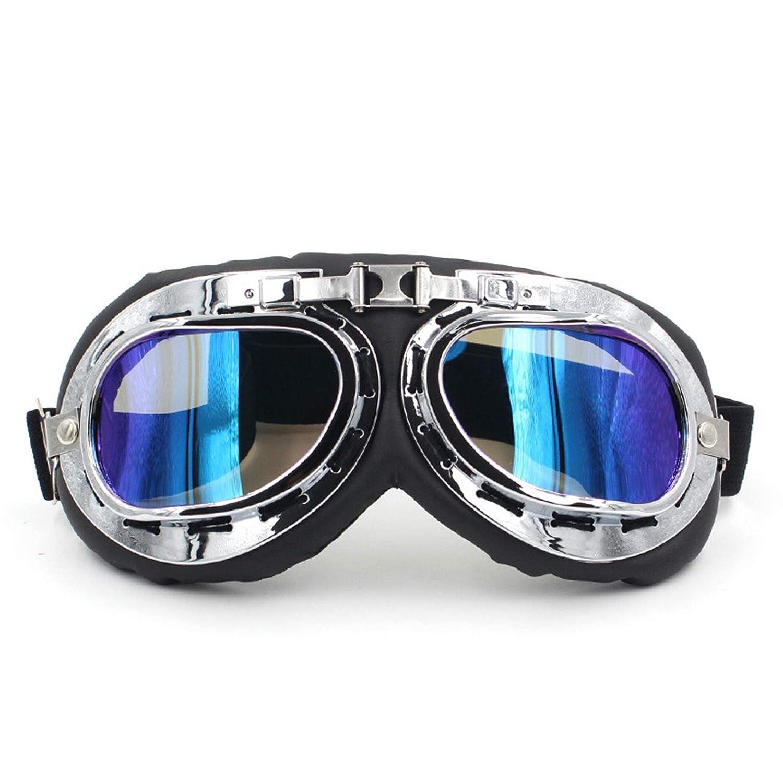 SonMo Motorradbrille Nachtsichtbrille Arbeitsbrille Sportbrille Radbrille Schneebrille Skibrille Snowboardbrille TPU+PC Sportbrille Nacht Blendschutz mit UV Schutz Windschutz