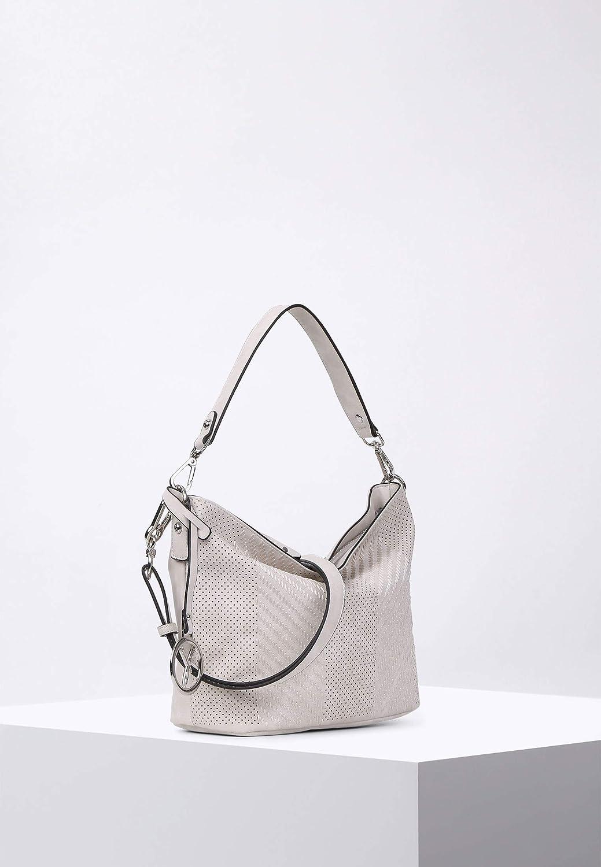 Melly Handtasche 24 cm, ecru