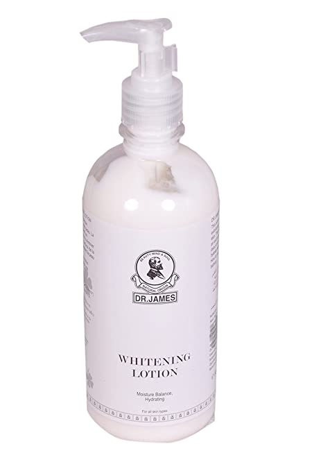 Buy Dr James Skin Whitening Body Lotion - 500Ml Online at Low Prices in  India - Amazon.in 7c406fcff53