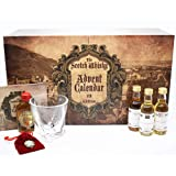 Fifth Edition Scotch Whisky Advent Calendar. 25 Premium and Rare Scotch Whisky's. Case of 25 x 50ml Scotch Tasting Set By Secret Spirits