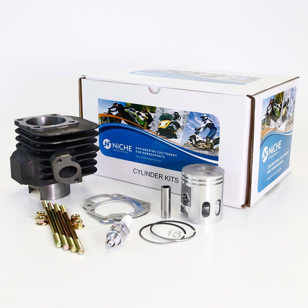 NICHE Cylinder Piston Gasket Top End Kit for Polaris Scrambler 90 2001-2003 Niche Industries