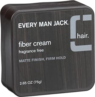 product image for Every Man Jack Fiber Cream - Matte Finish - Firm Hold - Fragrance Free - 2.65 oz (Pack of 2)