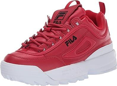 Fila Femme Disruptor II Premium Leather Synthetic Formateurs
