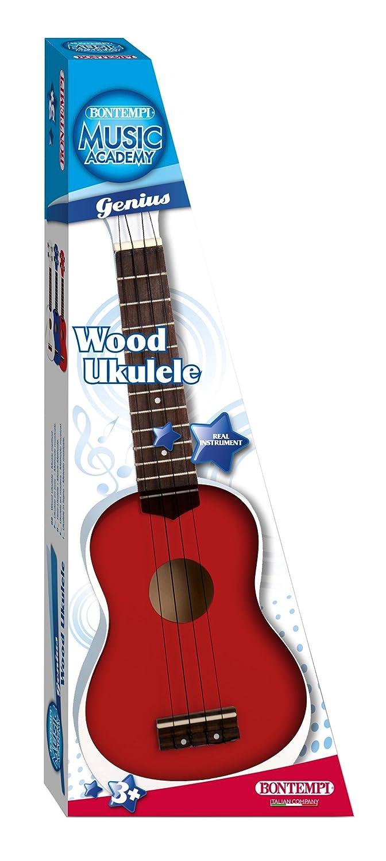 1 Unidad 53/cm Modelos//colores Surtidos ukelele de madera 5401 Bontempi 22