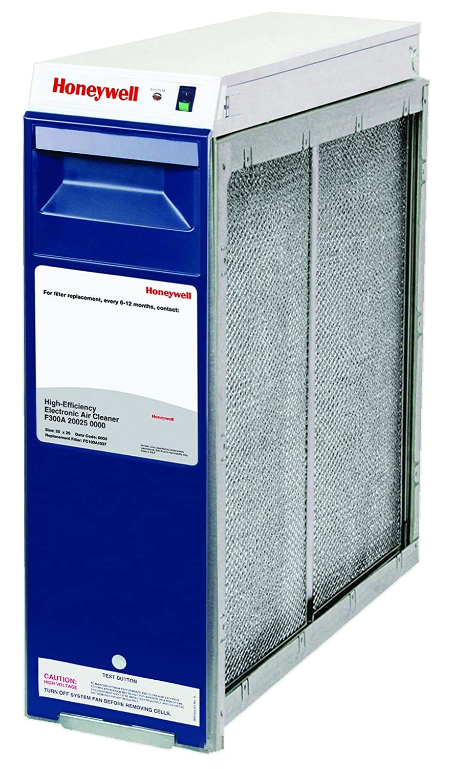 Honeywell F300A2025 Electronic Air Cleaner 20X25 2000 CFM: Replacement  Furnace Filters: Amazon.com: Industrial & Scientific