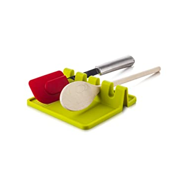 Tomorrow's Kitchen Silicone Utensil Rest, Green