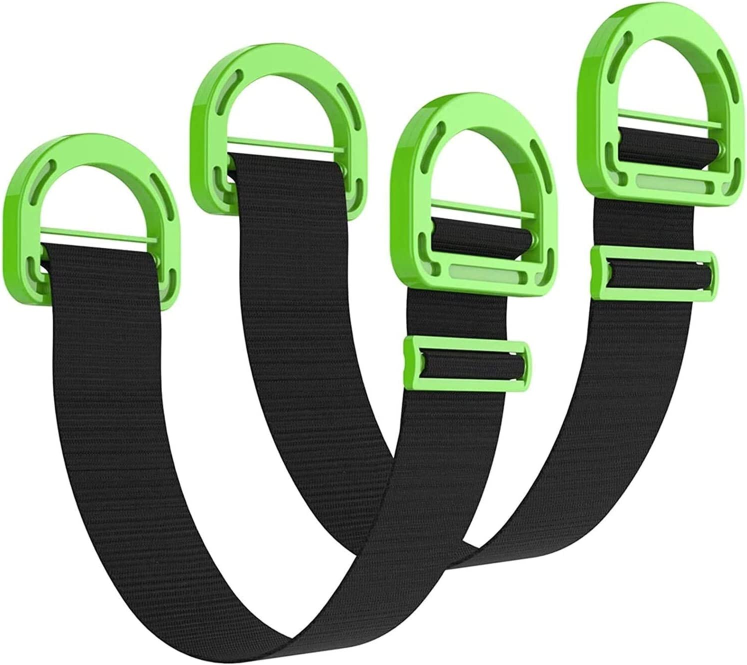 Luffa elves Adjustable Lifting Moving Straps, Lifting Belt, Heavy Lifting Belt Moving and Lifting System, Heavy Furniture Multifunctional Conveyor Belt, Boxes, mattresses, Construction (2)