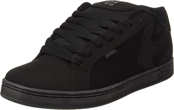 Etnies Fader Sneaker Herren Skate Brown Black Grey Dirty Wash Skateschuh