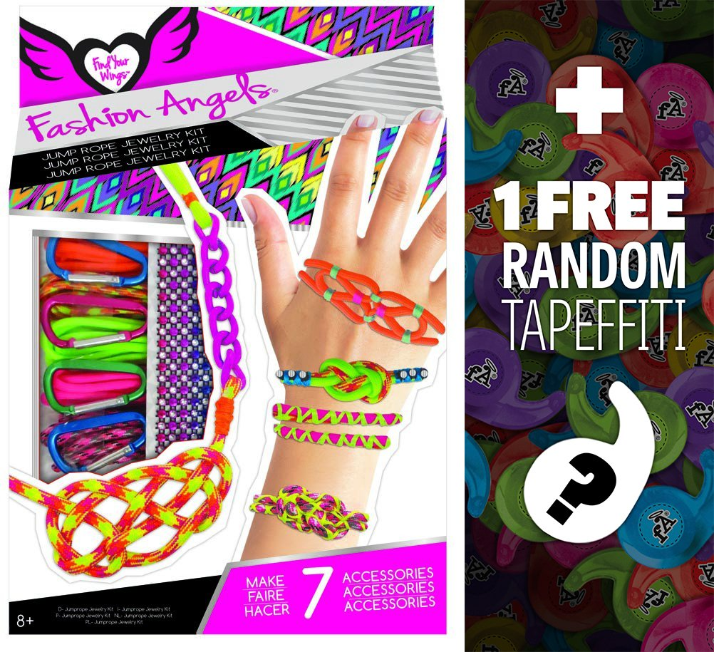 Jump Rope Accessory Kit: Fashion Angels Find Your Wings Series + 1 FREE Mini-Tapeffiti Bundle [119438]