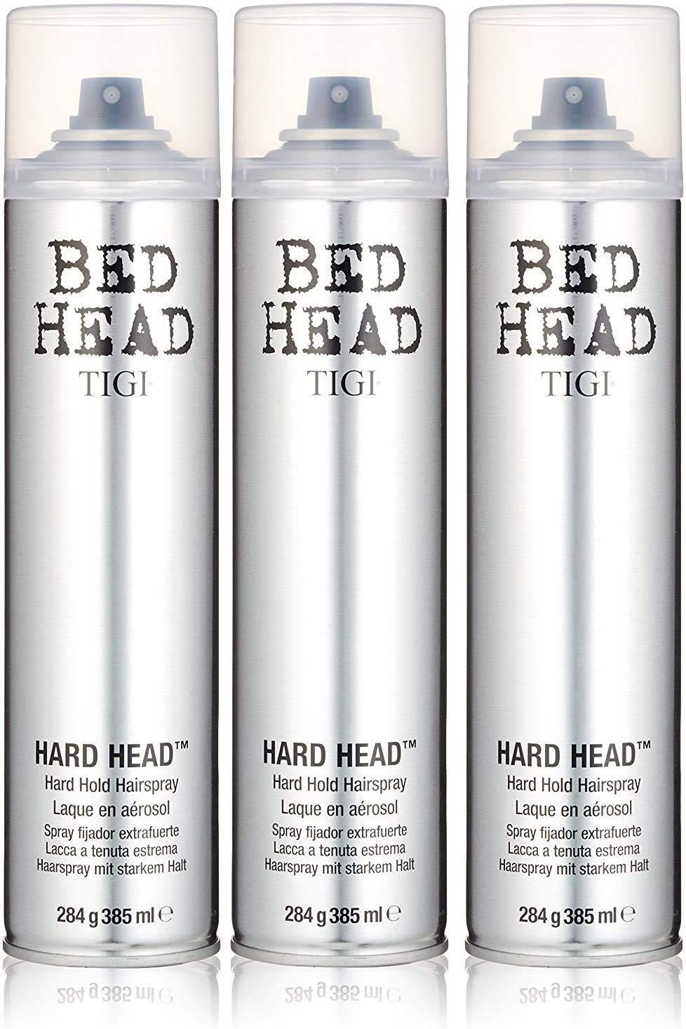 Tigi Bed Head Hard Head Spray 10.6 Oz Each (Pack of 3)