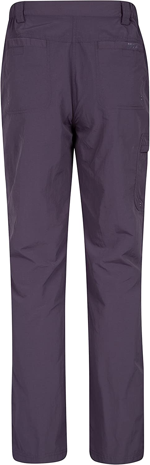 Camping /& Outdoors Mountain Warehouse Explorer Womens Zip Off Trousers Quick Drying Pants Best for Hiking UV Protection Bottoms