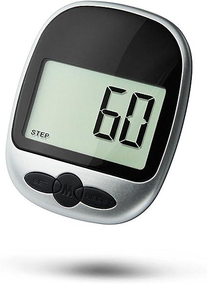 2 x Noir LCD Podomètre Étape Marche Jogging Calorie Compteur Distance Fitness