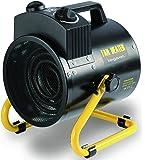 Garden mile® 2Kw Tilting Cylinder Industrial Space Fan Heater Workshop Garage Office Fan Heaters Adjustable Power and Thermostat Control (2Kw Tilting Workshop Cydinder Heater)