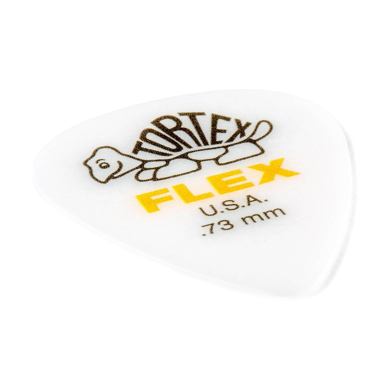 428P.88 Dunlop Tortex Flex Standard .88mm Green Guitar Pick-12 Pack