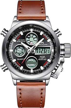 Relojes Hombre Reloj Militar Deportivos Digital Impermeable LED ...