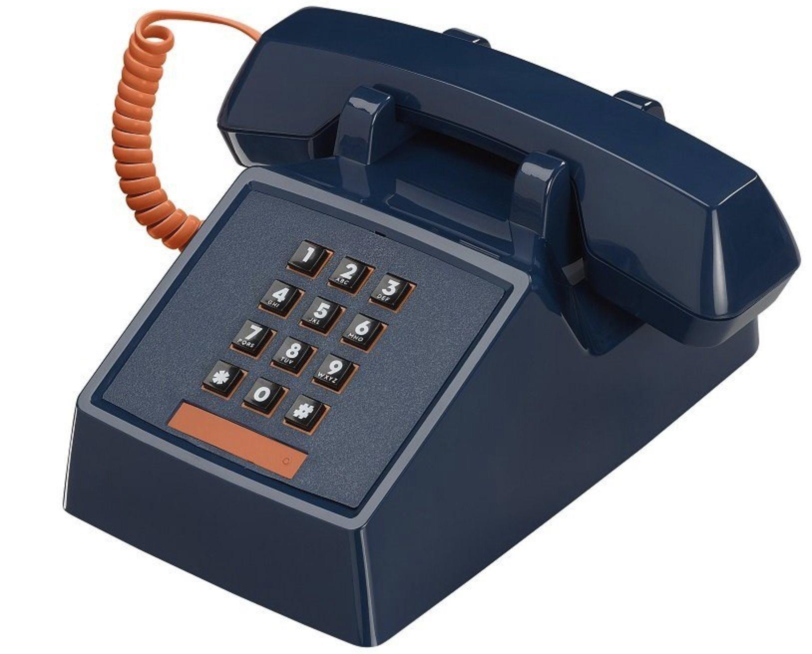 Wild Wood ATP080 Landline Phone, Atlantic Blue