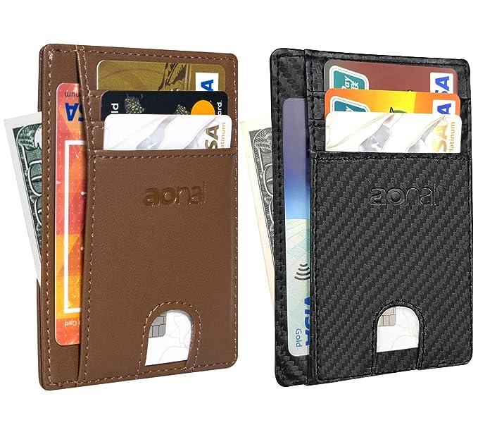 Amazon.com: 2 unidades de bolsillo delantero minimalista ...
