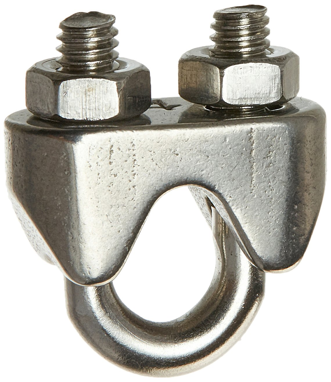 5 Pcs Stainless Steel Cable Clip Saddle Clamp for 15//64 6mm Wire Rope