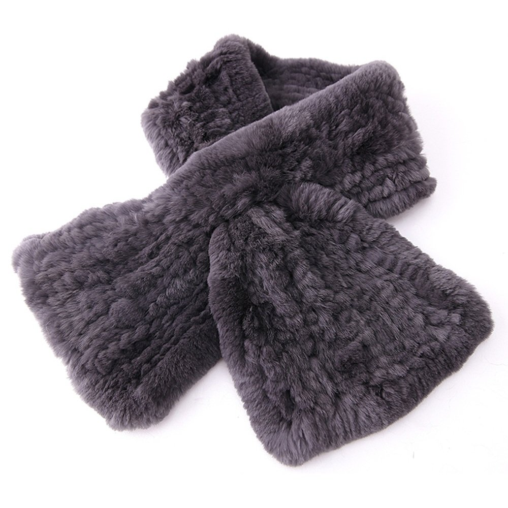 HAIZHEN alla moda alla moda Sciarpe di moda Maschio Autunno E Inverno Tessitura Caldo Padre Dad Scuola Media ragazzi Grigio Nero Morbido e caldo ( Colore : Grigio )