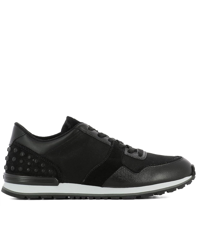 Tod's メンズ XXM0XH0R011H9AB999 ブラック ファブリック 運動靴 B079M4XPSK