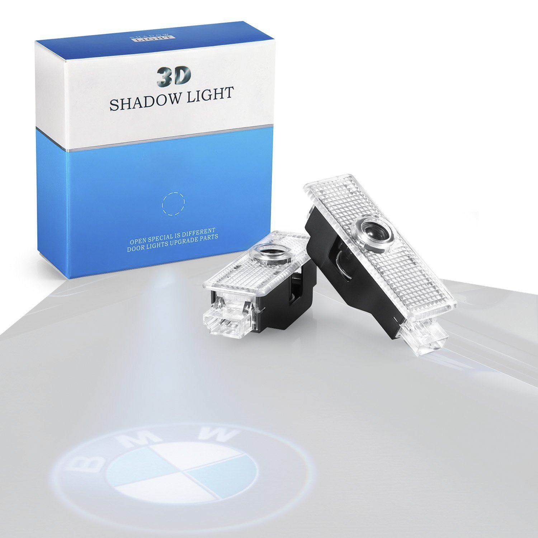 Amazon.com: HConce BMW Car Door LED Light Logo HD Projector Easy ...