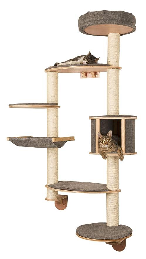 Kerbl Dolomit Tofana - Árbol de Pared para Gatos, tamaño XL, 185 x 115